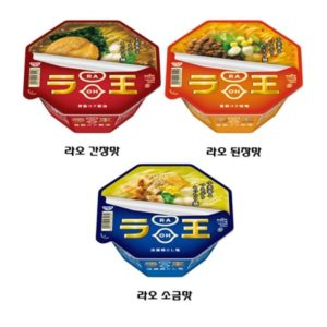 [NISSIN] 닛신 라오 라면 간장맛 된장맛 소금맛/컵라면/일본라면/일본컵라면/닛신라오/일본인기라면/일본직구(특급배송)
