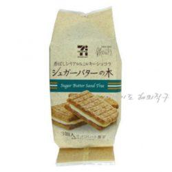 일본세븐일레븐 슈가버터나무 쿠키 3개입 Sugar Butter Sand Tree / 슈가버터샌드 / 쿠키 /샌드쿠키 (특급배송)