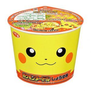 피카츄 컵라면 간장맛 씨푸드 라면 / 포켓몬스터 라면 / 포켓몬 피카츄 컵라면 (특급배송)