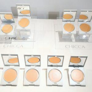 [CHICCA] 킷카 플로레스 글로우 솔리드 파운데이션 SPF43 PA +++ 키카 치카 FLAWLESS GLOW solid foundatoin (특급배송)