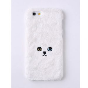 [KEORA KEORA] 케오라케오라 고양이 아이폰 케이스 화이트 네코 cat / iPhone7전용 (특급배송)