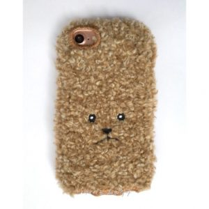 [KEORA KEORA] 케오라케오라 토이푸들 아이폰 케이스 믹스라이트브라운 / iPhone7 & iPhone6/6s 대응 (특급배송)