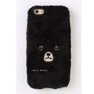 [KEORA KEORA] 케오라케오라 곰 아이폰 케이스 블랙 bear / iPhone7 & iPhone6/6s 대응 (특급배송)