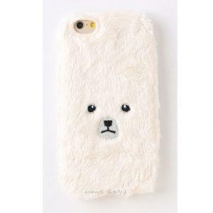 [KEORA KEORA] 케오라케오라 곰 아이폰 케이스 화이트 bear / iPhone7 & iPhone6/6s 대응