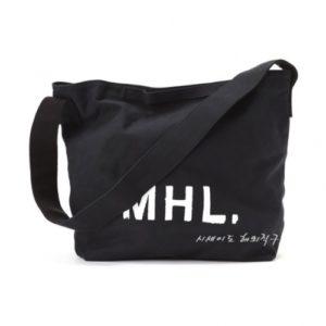 MHL 마가렛 호웰 에코백 / 해비캔버스 숄더백 블랙 / MHL HEAVY COTTON CANVAS (특급배송)