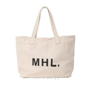 MHL 마가렛 호웰 해비 코튼 캔버스 토트백 베이지 / 에코백 / 토트백 MHL HEAVY COTTON CANVAS (특급배송)
