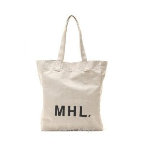 MHL 마가렛 호웰 해비 린넨 캔버스 토트백 베이지 / 에코백 / 토트백 MHL HEAVY LINEN CANVAS (특급배송)