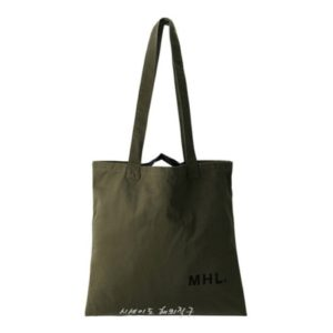 MHL 마가렛 호웰 라이트 코튼 토트백 카키 / 에코백 / 토트백 MHL LIGHT COTTON DRILL (특급배송)