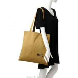 MHL 마가렛 호웰 라이트 코튼 토트백 옐로우 / 에코백 / 토트백 MHL LIGHT COTTON DRILL (특급배송)