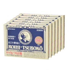 [건강제품모음]  로이히츠보코 동전파스 156매 6개세트