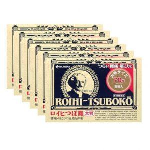 [건강제품모음] 동전파스 대형 78매 6개세트 로이히츠보코