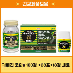 [건강제품모음] 카베진100정+28포+18정 세트